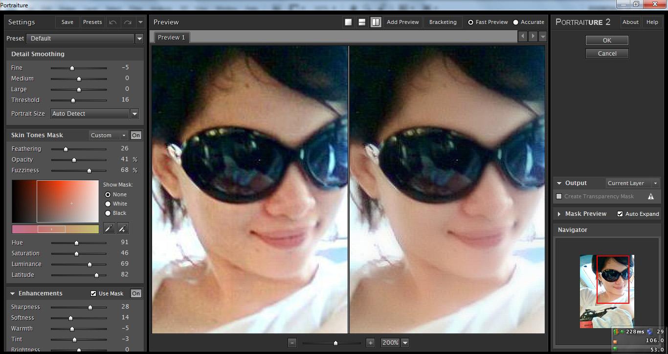 Portraiture : Plugin Photoshop Untuk Menghaluskan Wajah   BAWIKADARPA